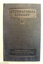 ELECTRIC IGNITION & STARTING Vanderdoes, Staff 1938 International Library 358 B