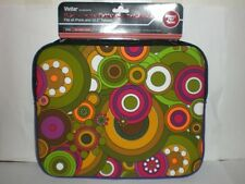 """VIVITAR 10.2"""" UNIVERSAL TABLET AND iPAD SLEEVE ROUND COLOR DESIGN *SEE PHOTO*"""