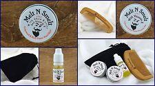 Cedarwood And Black Pepper, 10ml Oil, 15ml Wax,15ml Balm,Beard Comb AND Gift Bag