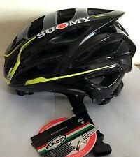 Suomi Gun Wind S-Line Black/Yellow Cycling Helmet