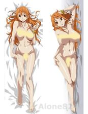 "59"" Anime One Piece Nami Dakimakura Hugging Body Pillow Case Cover 150x50cm"