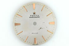 ZENITH Pilot Vintage Automatic Watch Dial Silver Diameter 28.5 mm (ZB430)