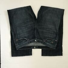 7 FOR ALL MANKIND Women's A Pocket Medium Wash Jeans Sz 40