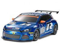 "TAMIYA RC CAR KAROSSERIE 1:10 ""VW SCIROCCO GT24 R-LINE"", UNLACKIERT # 300051473"