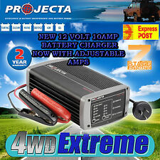 PROJECTA IC1000 BATTERY CHARGER 12 VOLT 10 AMP AUTOMATIC 7 STAGE AGM DEEP CYCLE