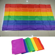 GAY PRIDE RAINBOW FLAG FESTIVAL CARNIVAL 5FT X 3FT Pop