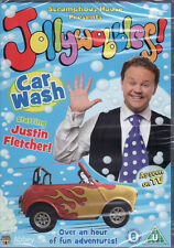 Justin Fletchers Jollywobbles - Car Wash -  DVD - Brand New & Sealed