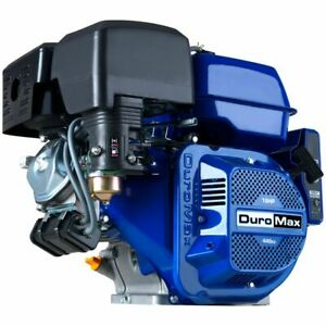 """DuroMax XP18HPE 440cc 3600 RPM 1"""" Electric Start Horizontal Gas Powered Engine"""