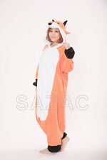 Red Fox Kigurumi  Fleece Pajama Costume-(SAZAC Original)-2775