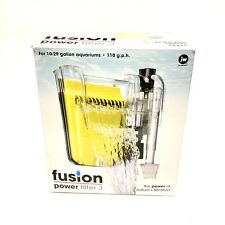 JW Pet Company Fusion 3 Power Filter for 10-29 Gallon 110 GPH Aquarium Hang On