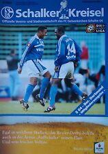 Programm 2000/01 FC Schalke 04 - Borussia Dortmund