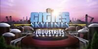 Cities Skylines Industries Expansion DLC for PC Steam (KEY ONLY) Fast Delivery
