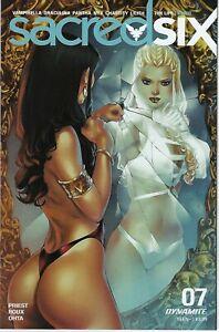 Sacred Six # 7 Elias Chatzoudis Variant Cover !!!  NM