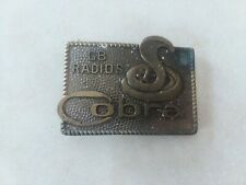 Radios Belt Buckle  Vintage Cobra Cb