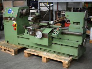 Geiger Holzdrehbank Typ B Drechselbank 3,1 kW Drehmaschine Holzbearbeitung