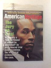 American Heritage Magazine Jul Aug '95  O.J. Simpson Trial MINT IN PACKAGE