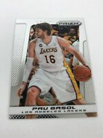 2013-14 Panini Prizm Basketball #43 Pau Gasol Los Angeles Lakers Hot