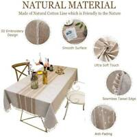 "Kitchen Dinning Table Cloth Cover Tablecloth Dust Proof Shrink Resistant 55""x78"""