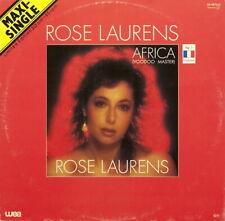 Rose Laurens Africa (Voodoo Master) Vinyl Single 12inch WEA