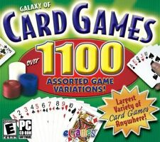 Galaxy Of Card Games PC Game - Over 1100 Assorted Game Variations