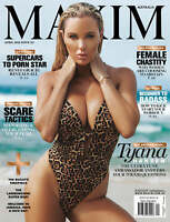 Maxim Australia Magazine Issue 117 April 2021 - Tyana Hansen Cover NEW