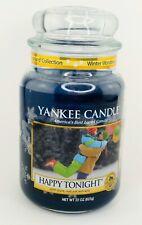 Yankee Candle Happy Tonight 22 oz Large Winter Wonderland HTF Collectors Edition