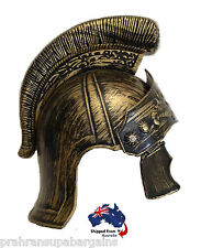 Roman Armour Helmet Viking Spartan Gladiator Warrior Party Hat Costume