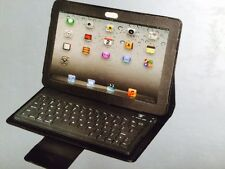 """Tuff Luv Bluetooth Keyboard Leather Folio Case Stand Samsung Galaxy Tab 3 10.1"""""""