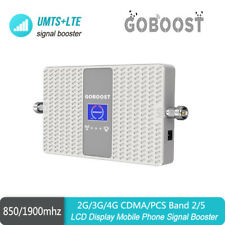 2/3G/4G CDMA 850+PCS 1900  Band2 Band5 Dual frequency CellPhone Signal Repeater