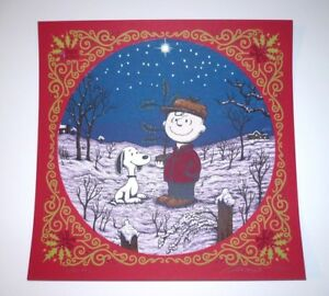 Marq Spusta screen print A Charlie Brown Christmas RED ed. Peanuts Snoopy MINT