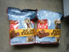 Jerky Treats Tender Beef Strips Dog Snacks 60oz Vitamins Minerals Omega 3 Canine