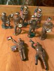Vintage Barclay Army Flag Carriers Drummers Bugle Carrier Pigeon Signal Man Lot