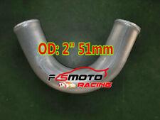 "2"" inch 51MM 135 Degree Aluminum Turbo Intercooler Pipe Hose Tube Tubing L=600MM"