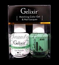 Gelixir Soak Off Gel Polish Dollar Bill 069 LED/UV 5oz matching gel duo NEW