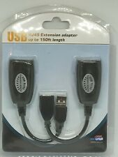 USB RJ45 Extension Adapter Up To 150 Foot Length USB-RJXT