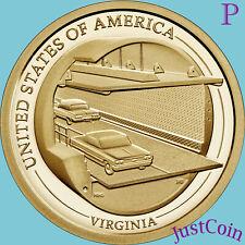 2021-P VIRGINIA (VA) INNOVATION UNCIRCULATED DOLLAR