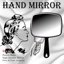 Rectangle Hand Held Mirror Salon Style Vanity Professional Random Colours Only