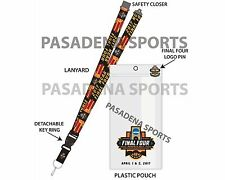 2017 MEN'S BASKETBALL FINAL FOUR LANYARD / TICKET HOLDER / LOGO PIN
