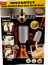 Tap Pro Turn Bottled Beer Into Draft Beer Instantly! New in Box