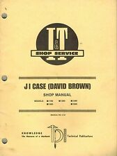 Case David Brown 1190 1290 1390 1490 1690 Tractor I+T Shop Manual C-33