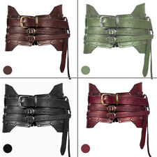 Medieval Steampunk Retro Wide Armor Belt Knight Cosplay Costume Waistband Props