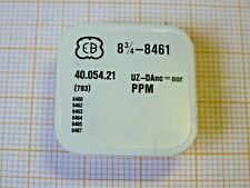 Unruhe mit Spirale EB 8 3/4,8461 ältere Lagerware original Ebauches SA