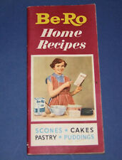 Be-Ro Home Recipes Baking/Cookbook. Twenty-sixth/26th million/edition (c. 1963)