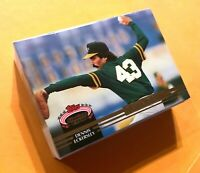"""50) DENNIS ECKERSLEY Oakland A's 1992 Topps """"MEMBERS ONLY"""" Stadium Club LOT"""