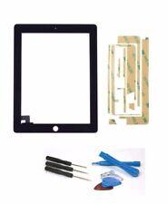 Apple iPad 2 écran tactile numériseur verre A1395 Noir+ set d'outils + Colle