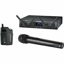 Audio-Technica ATW-1312 System 10 PRO Rack-Mount Digital UniPak/ Handheld Combo