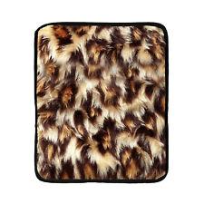 Micro Hotties Leopard Print Fleece Microwave Hot Water Bottle Heat Body Warmer