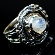 Rainbow Moonstone 925 Sterling Silver Ring Size 8 Ana Co Jewelry R19157F