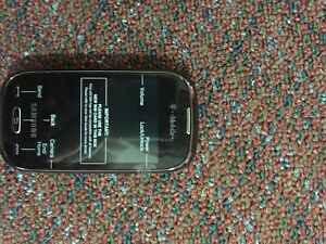 Samsung Gravity Q SGH-T289 - Brown (T-Mobile) Cellular Phone