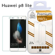 2 X Huawei P8 Lite Tempered Glass Genuine Gorilla Tech Brand Screen Protector